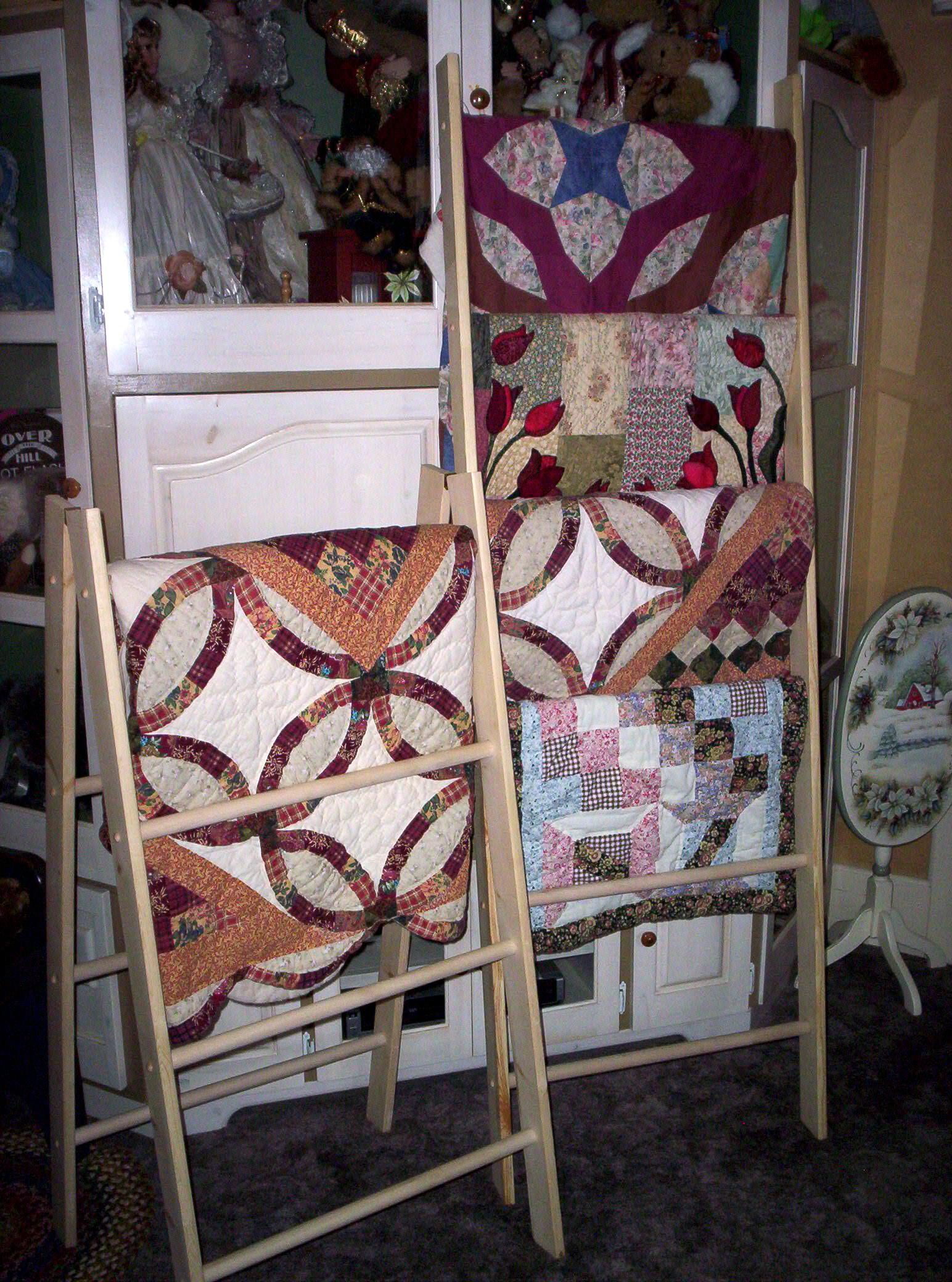 quilt ladders